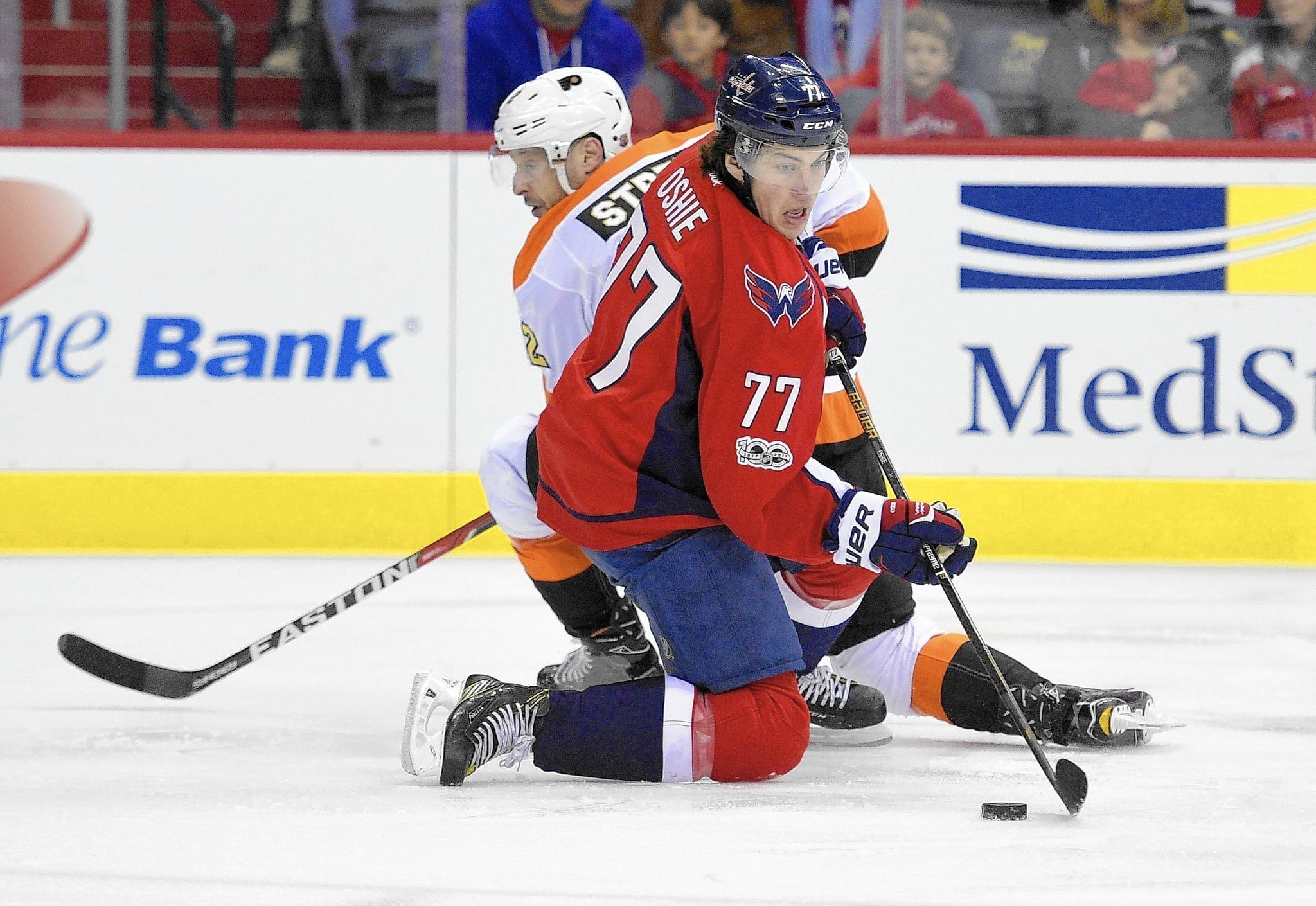 Capitals blow out Flyers to win 9th consecutive game