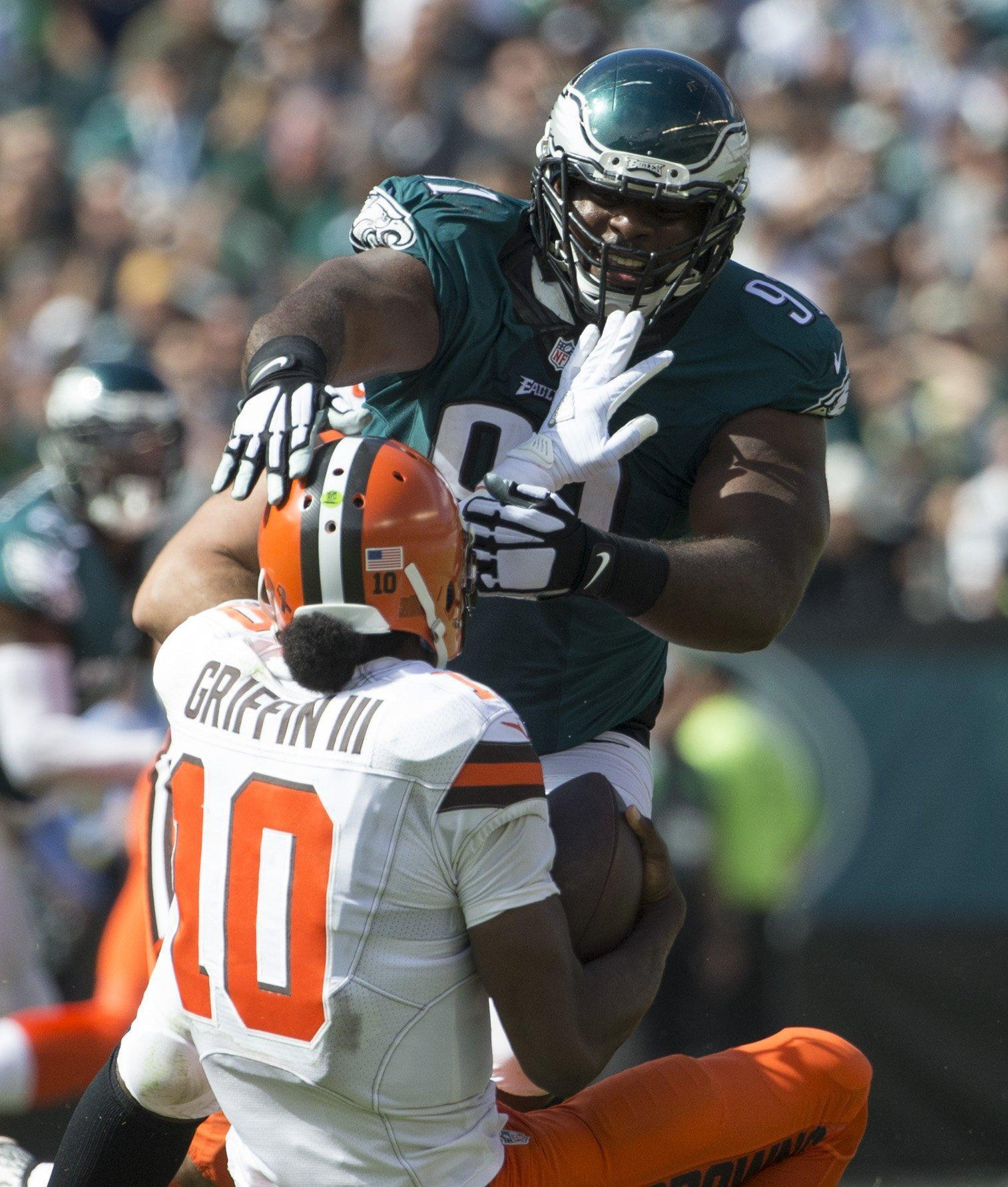 Video review Eagles DT Fletcher Cox s value can t be measured