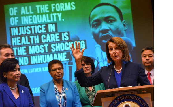 'We are not going back': California Democrats protest GOP efforts to dismantle Obamacare