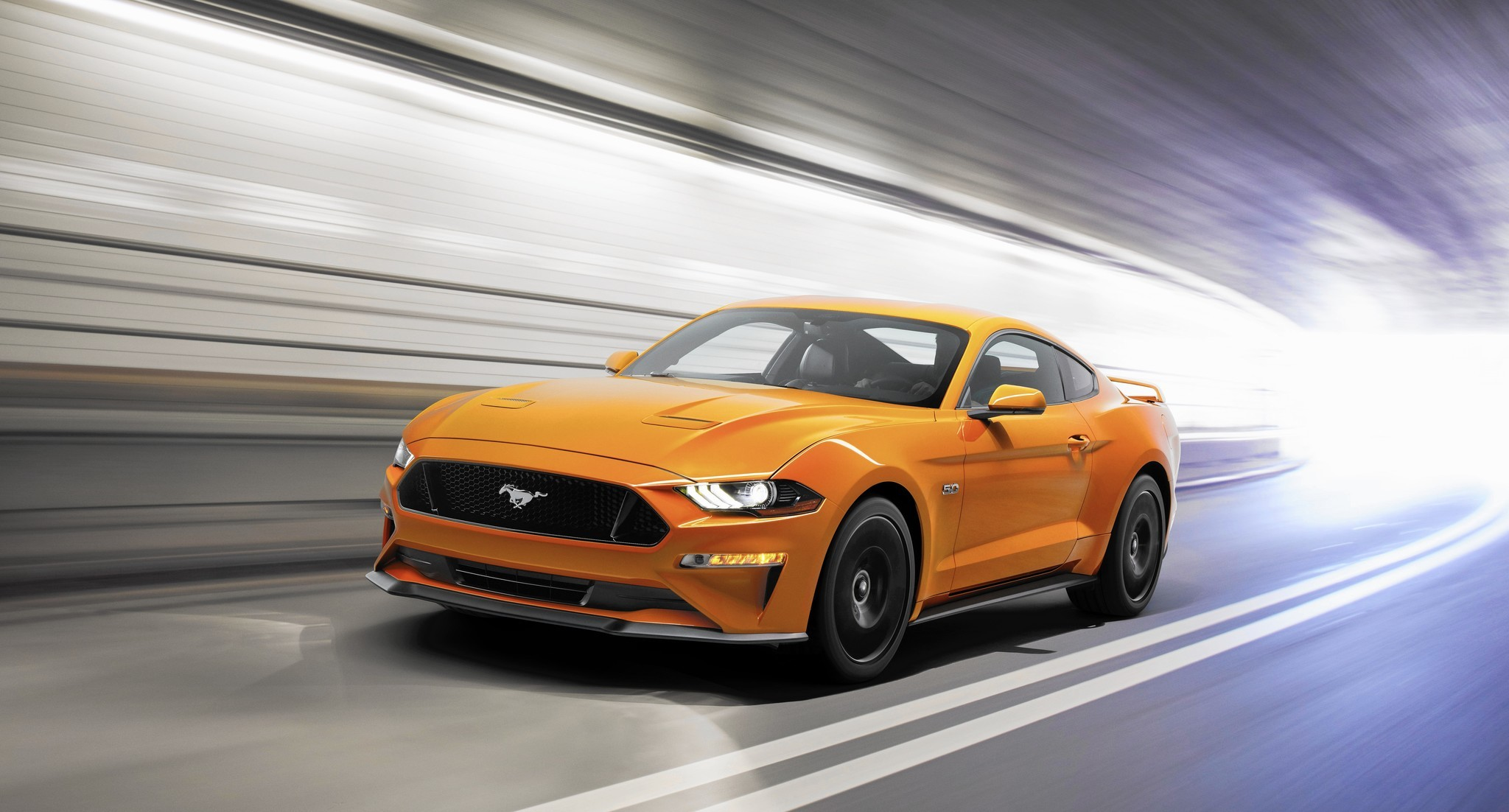Refreshed 2018 Ford Mustang channels high-performance GT350
