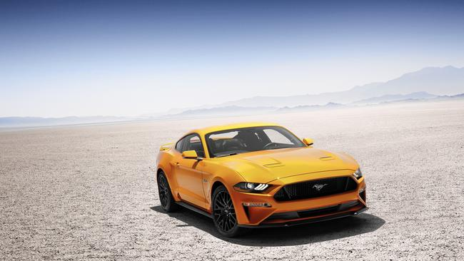 Refreshed 2018 Ford Mustang channels highperformance GT350
