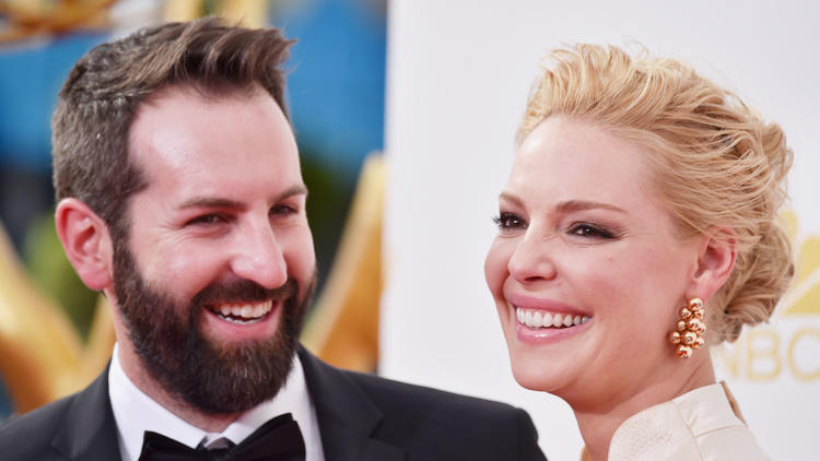 Josh Kelley and Katherine Heigl -- at the Primetime Emmys in 2014 -- have a new baby boy. (Frazer Harrison / Getty Images)