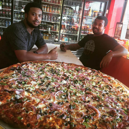 Champs Pizza Food Network
