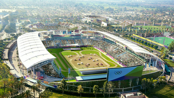 The StubHub Center will house the modern pentathlon if the 2024 Olympics are hosted by Los Angeles.
