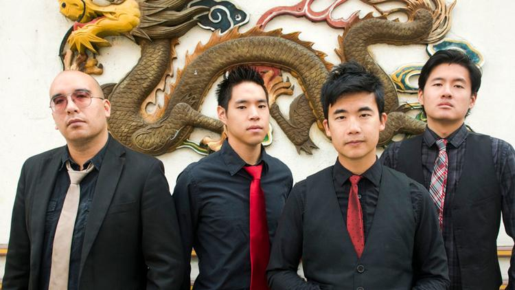 Members of the band the Slants. (Anthony Pidgeon / Associated Press)