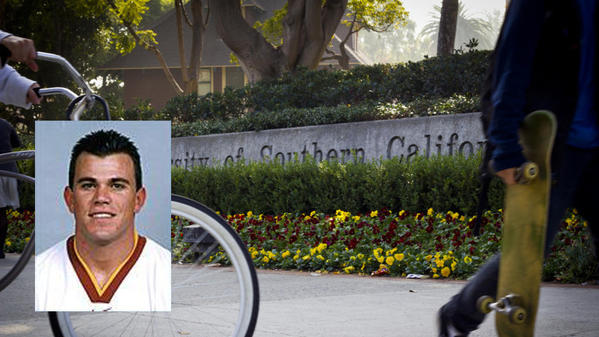 Former USC football player is sorry that he 'lashed out' at lawyers after plea
