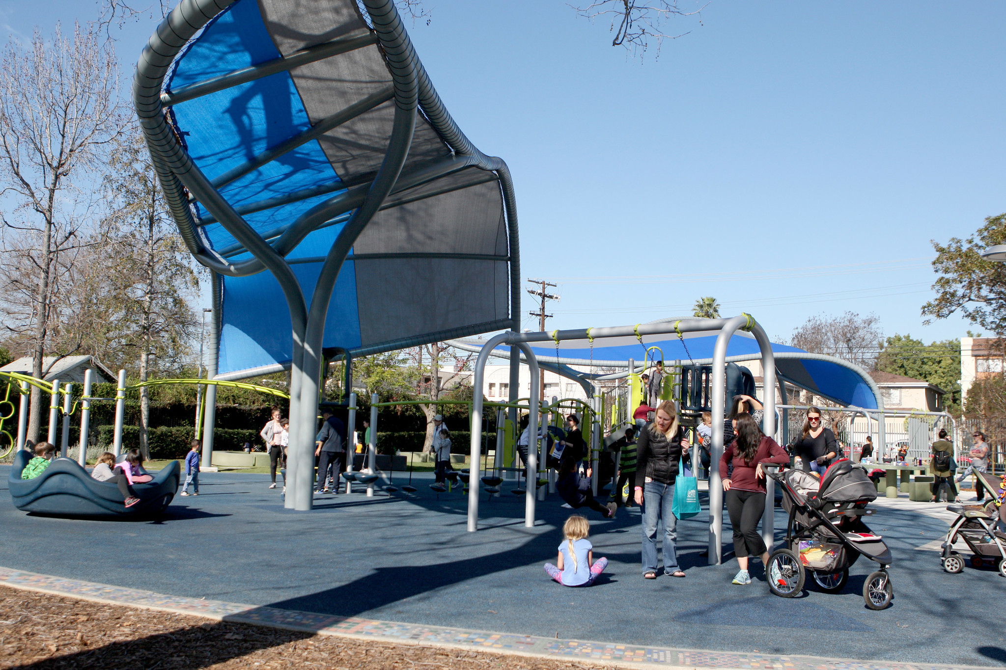 Palmer Park Reopens To Glendale Residents Glendale News