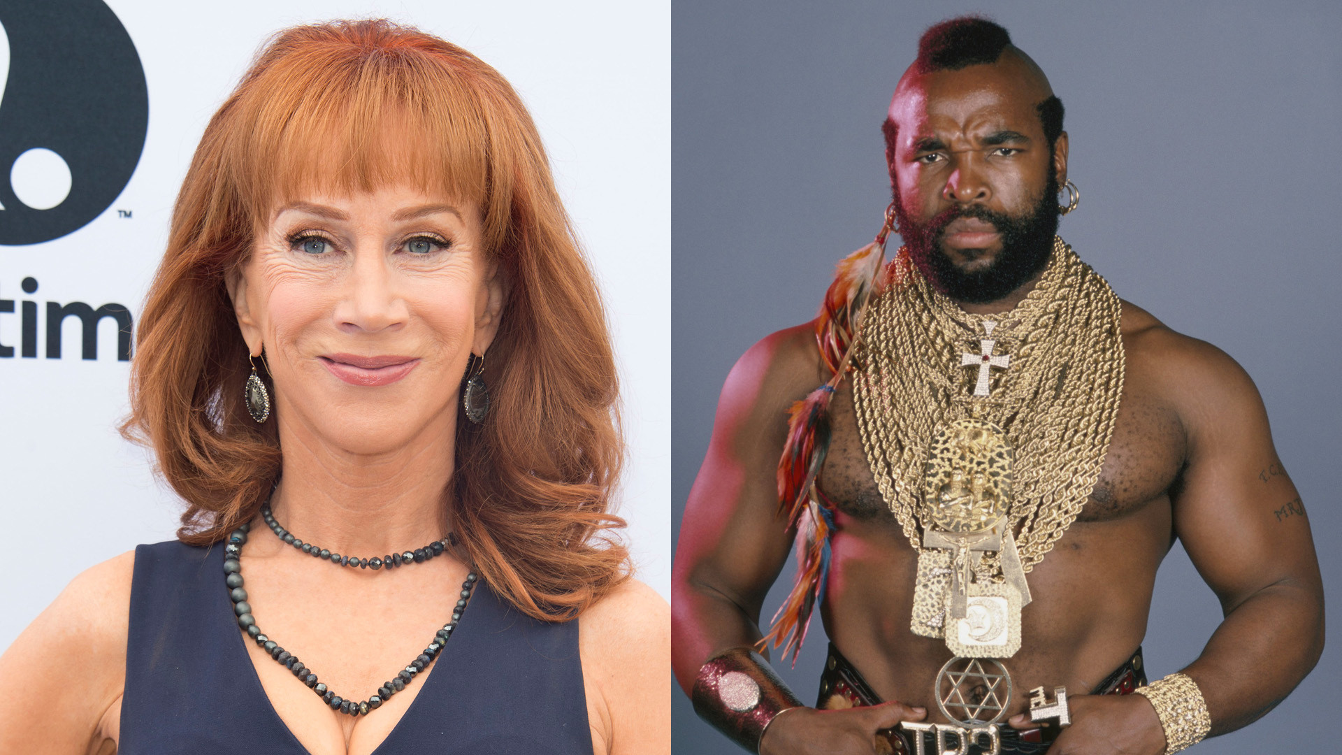 Kathy Griffin Recalls Mr T Helping Her Out Of A Jam Before Chicago