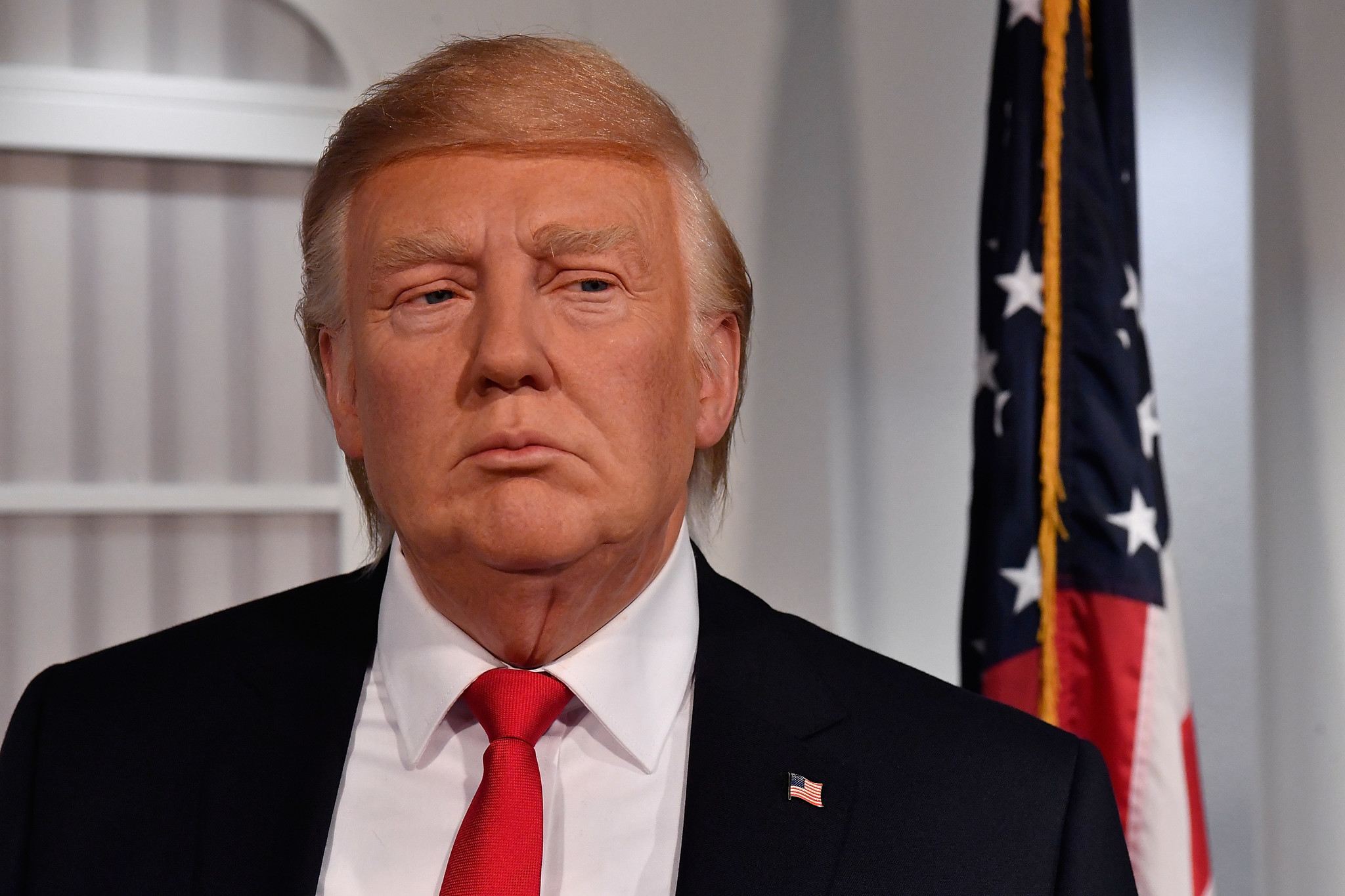 Image result for madame tussauds trump