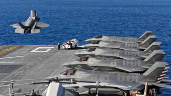 F-35's 'Grotesque Overruns' Are Now Past, Pentagon's Chief Says