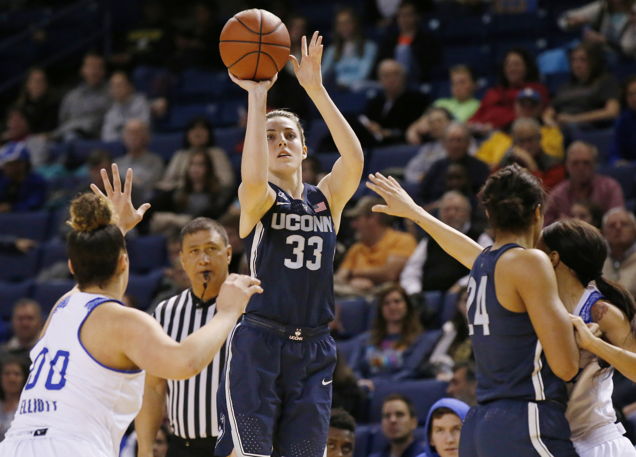 uconn women: just no stopping katie lou; other things learned