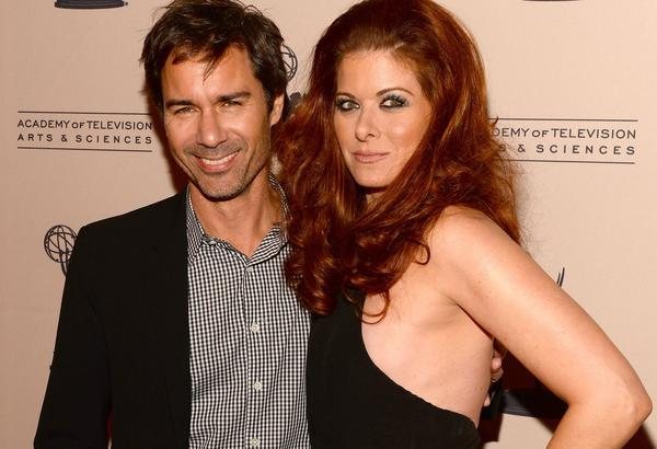 "Eric McCormack and Debra Messing of ""Will & Grace."" (Mark Davis / Getty Images)"