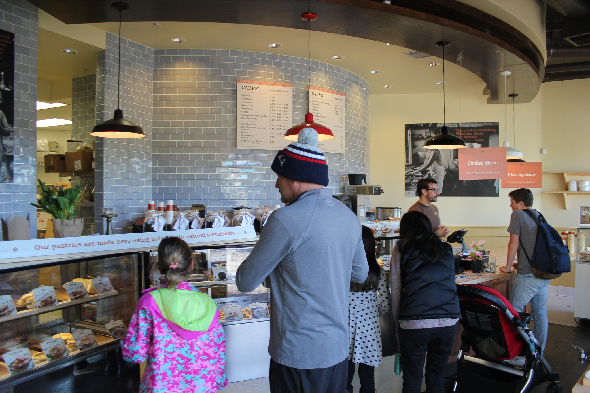 Visitors line up in the new Pappalecco in Del Mar Highlands Town Center.
