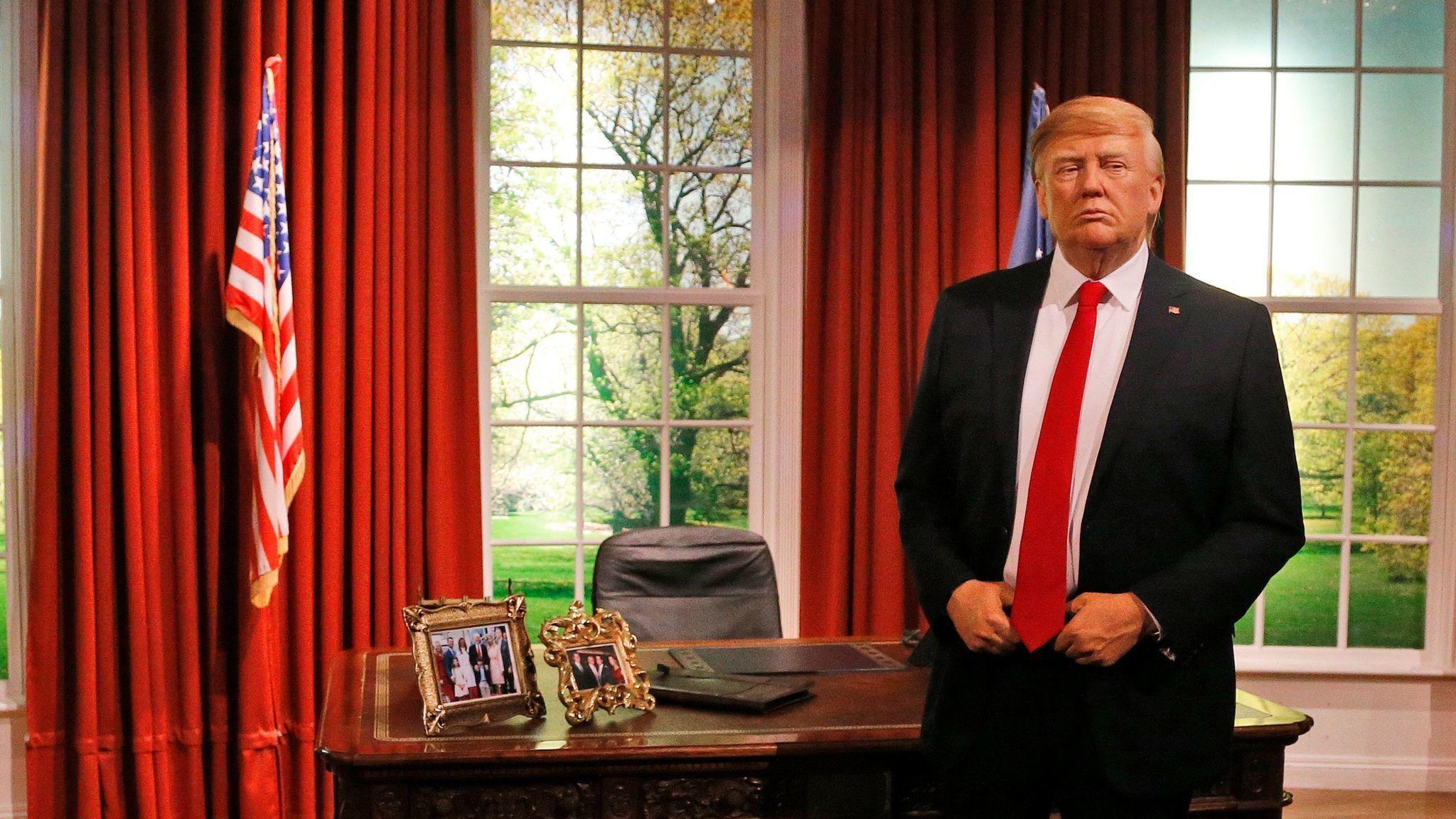 Trump wax figure unveiled at Madame Tussauds Orlando - Orlando ...