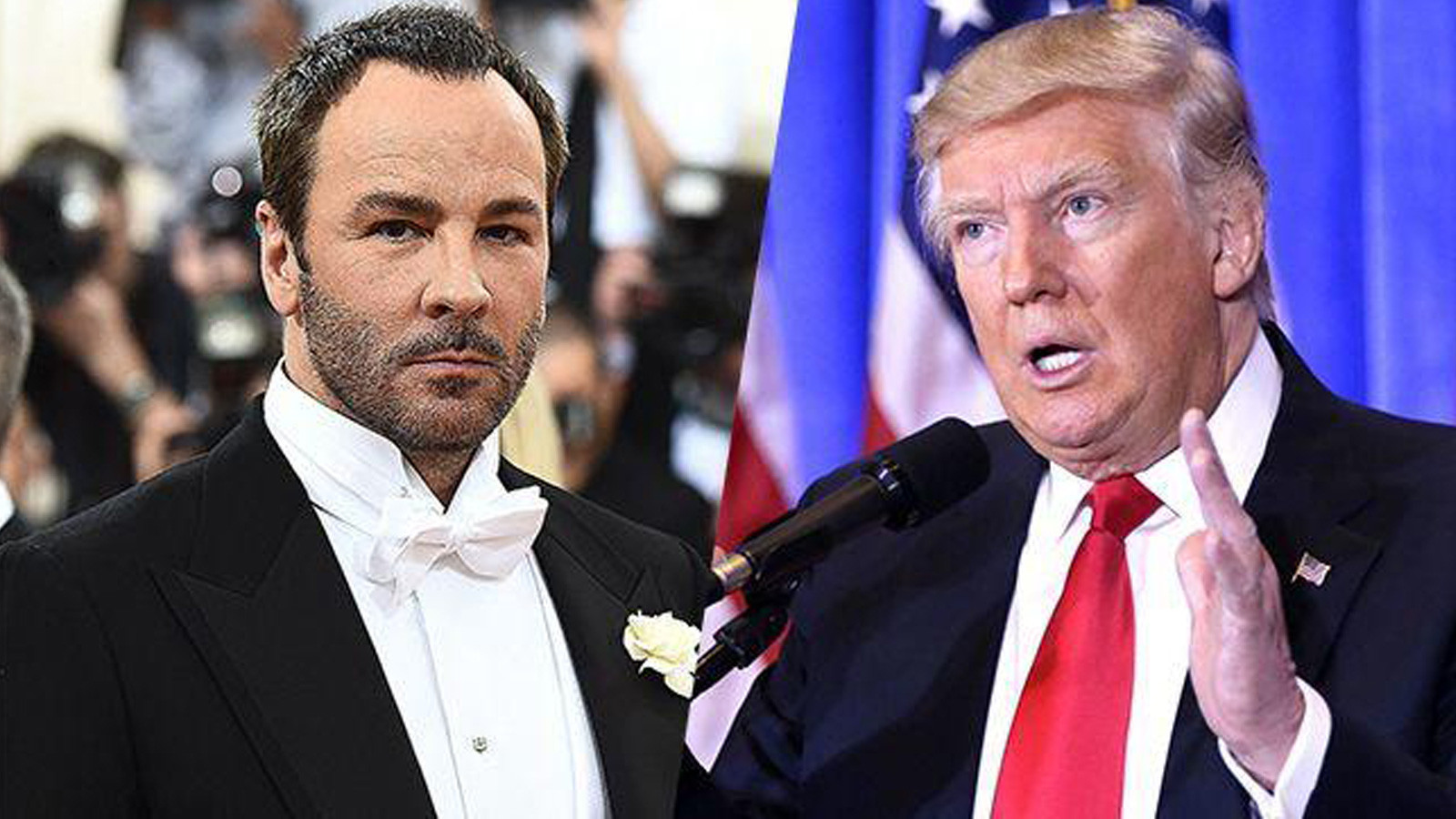 Donald Trump blasts Tom Ford for comments about soon-to-be First Lady Melania Trump