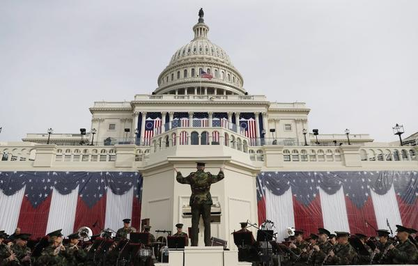 T-minus one day until Trump's inauguration. Here's a preview from Washington