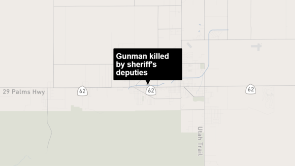 Man who smoked meth for 'several days' killed in shootout with deputies at Motel 6 in Twentynine Palms