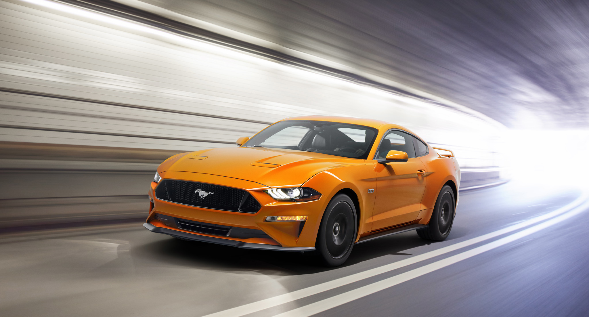 Ford unleashes a new Mustang GT for 2018