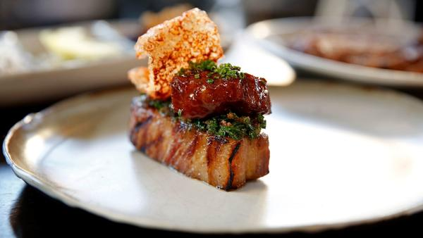 Jonathan Gold: Gwen, a manly restaurant and butcher shop, simply screams 'steak'