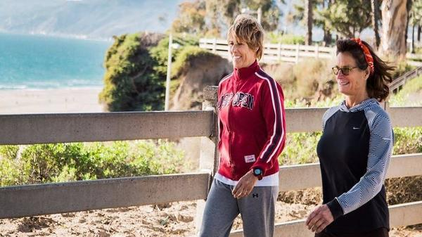 Why open water swimmer Diana Nyad wants you to start walking