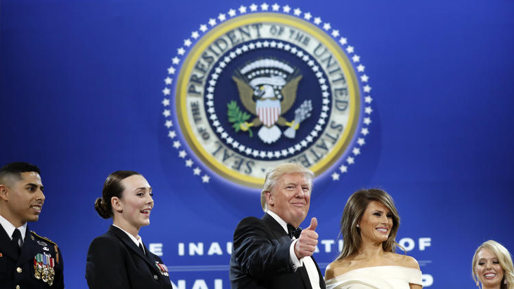 Photo gallery: Presidential inauguration of Donald Trump