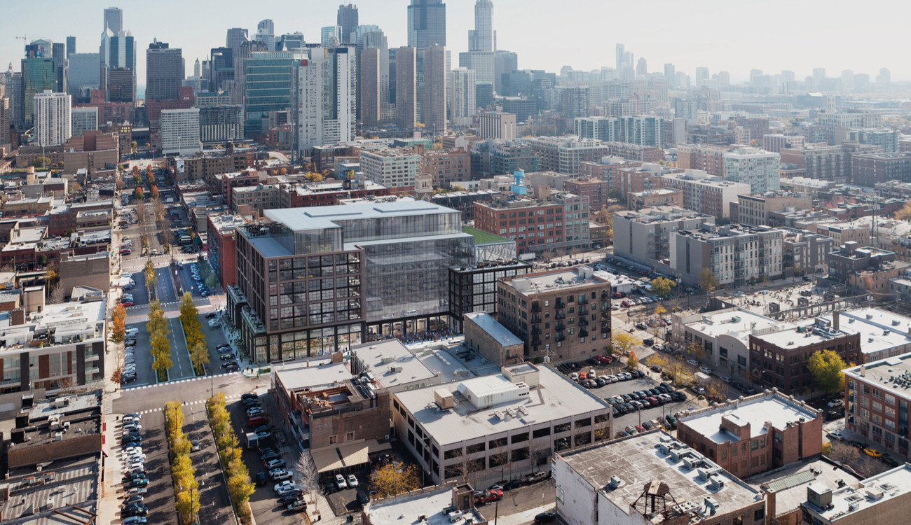 Aerial look at new McDonald's HQ - Chicago Tribune