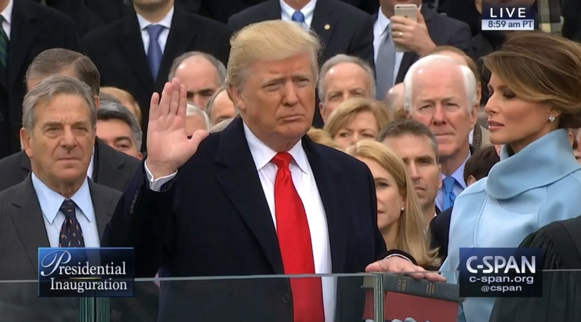 Donald Trump sworn in as U.S. president - Chicago Tribune