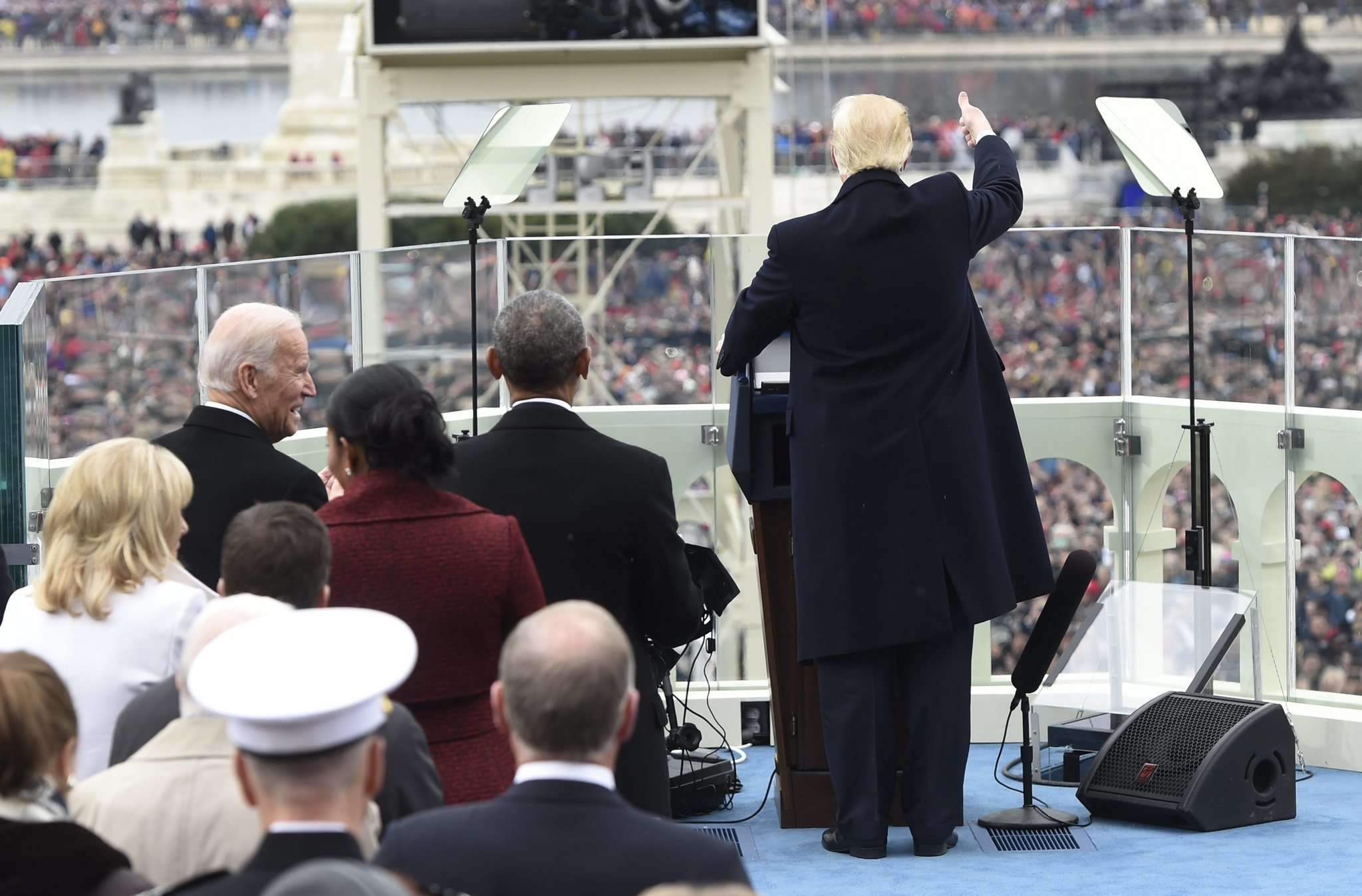 Trump's inaugural address does little to allay these readers' fears