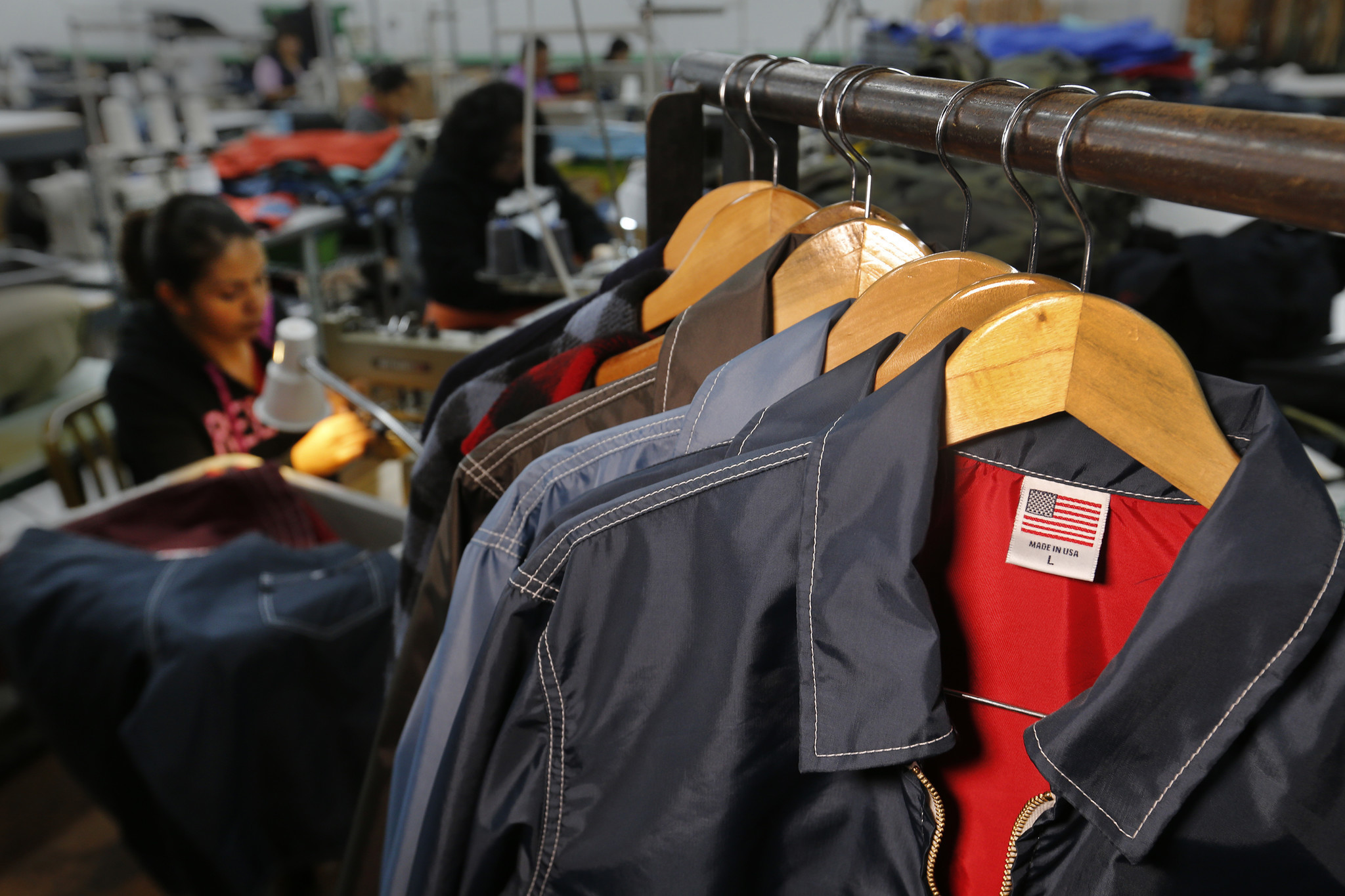 As Trump pushes for U.S. manufacturing, 'Made in America' is losing its luster in the fashion world