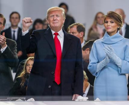 For cable networks, it's business as usual, despite unprecedented nature of Trump's inauguration