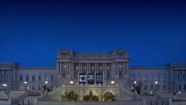 California's Rep. Dana Rohrabacher throws a big inaugural ball at the Library of Congress