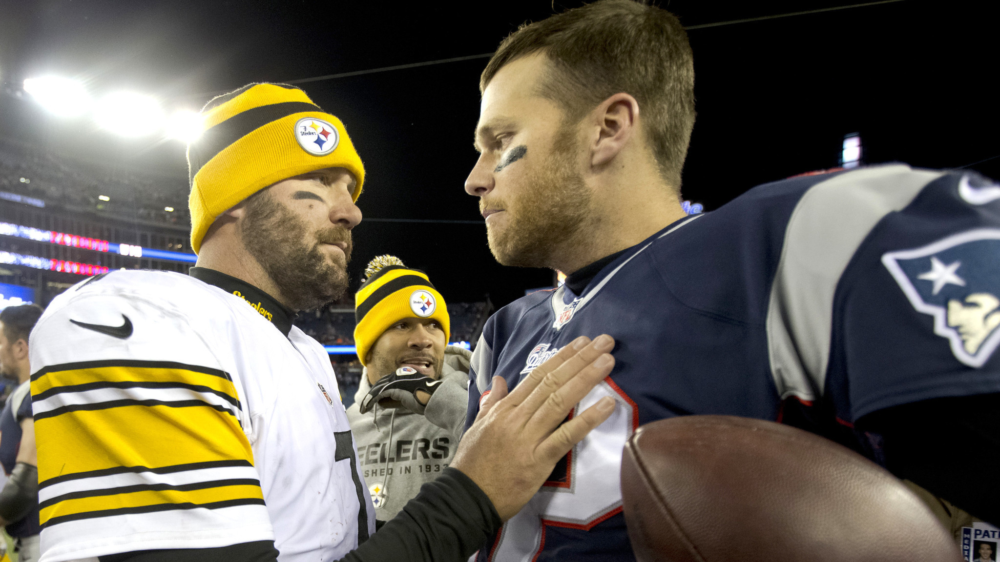 Tom Brady, Ben Roethlisberger, Aaron Rodgers, Matt Ryan form a high-quality quarterback quartet in NFL playoffs