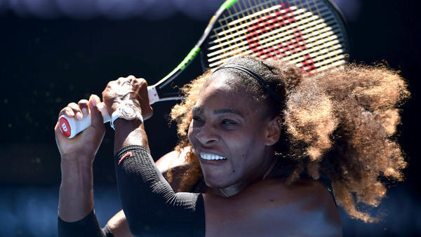 Serena Williams keeps the power on during third-round victory at Australian Open