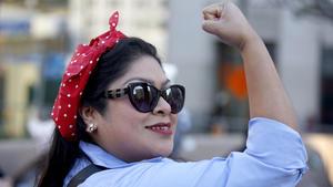 """""""Esto realmente meterse debajo de su piel"""": Historias de por qué las mujeres están marchando"""