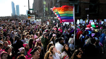 Thousands march through Loop as part of Women's March after rally draws 250,000