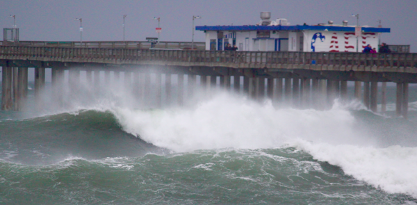 San Diego recorded extraordinary winds during Friday's storm - read the list