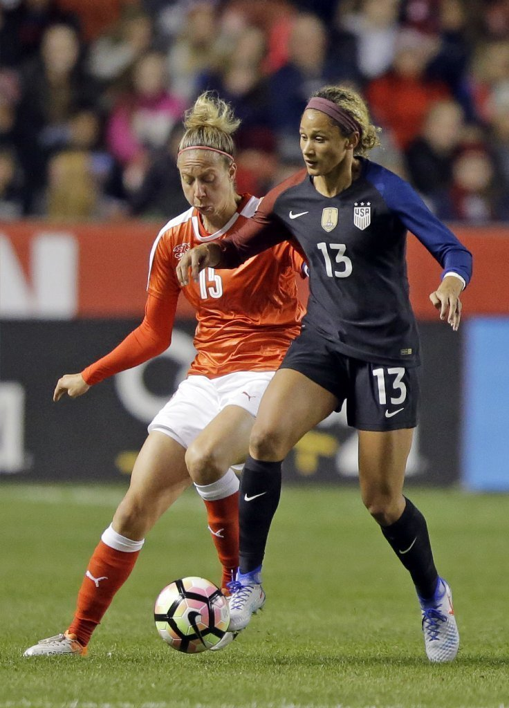 Diversity, talent on the rise in U.S. women's soccer