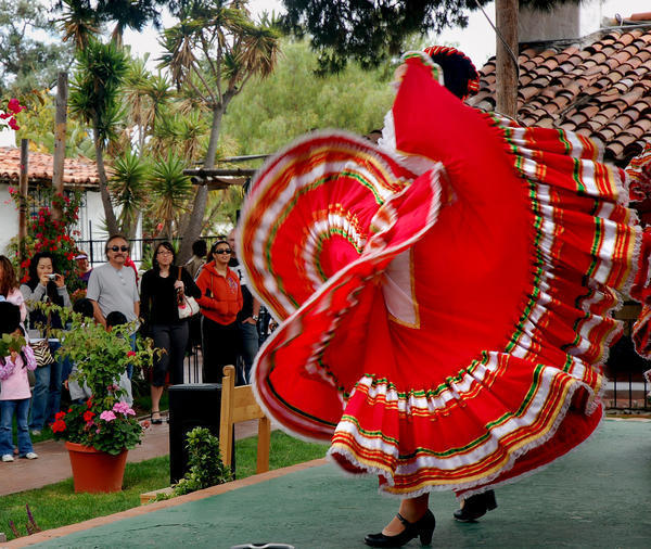 Old Town San Diego is full of colorful folk art, historic buildings, Mexican food and enormous margaritas