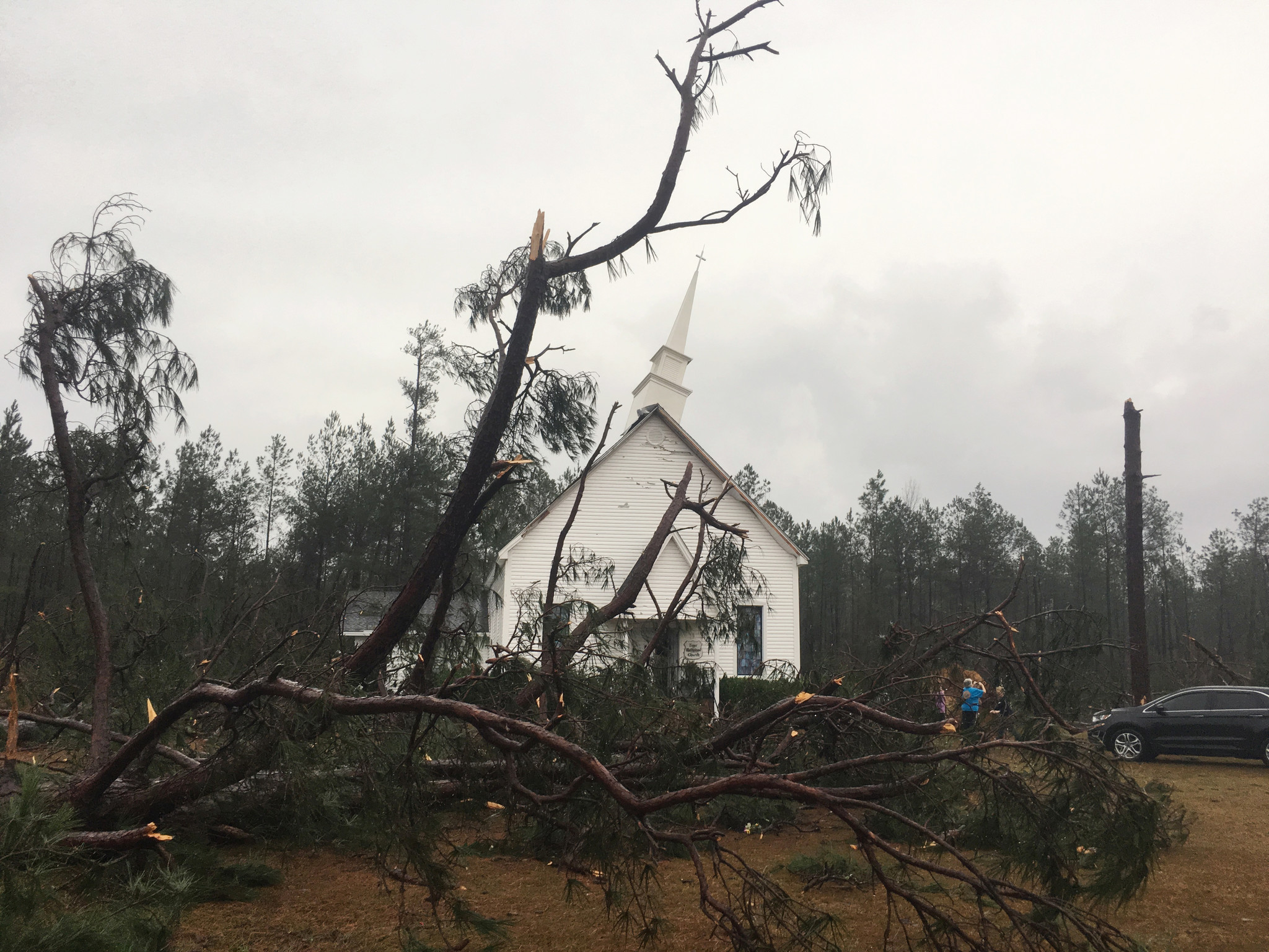 18 Dead Amid Reported Tornadoes Other Storms In The South