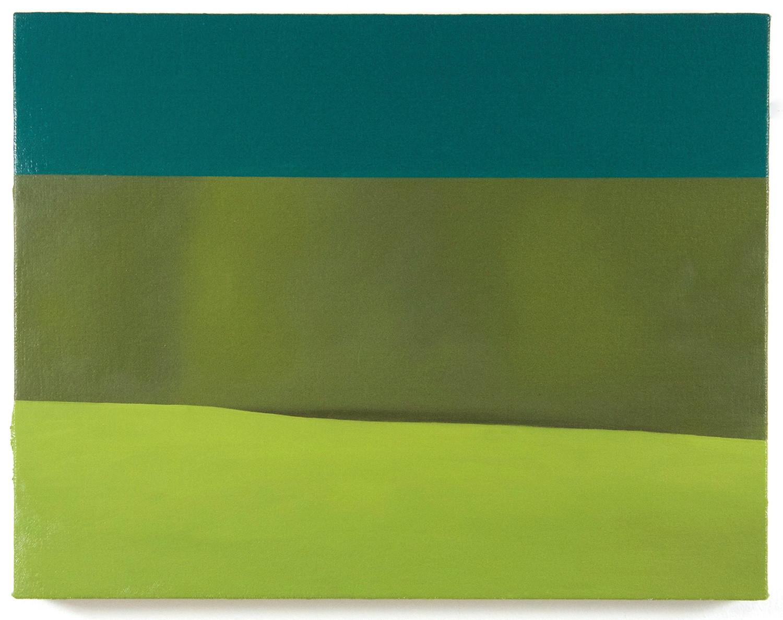 "Emily Davis Adams, ""No. 131,"" 2016, oil on canvas over panel."