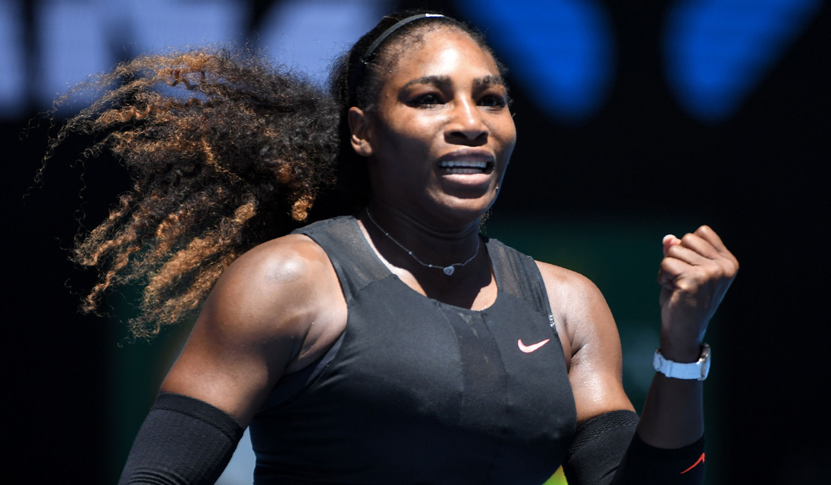 Serena Williams won the Australian Open while pregnant, it seems