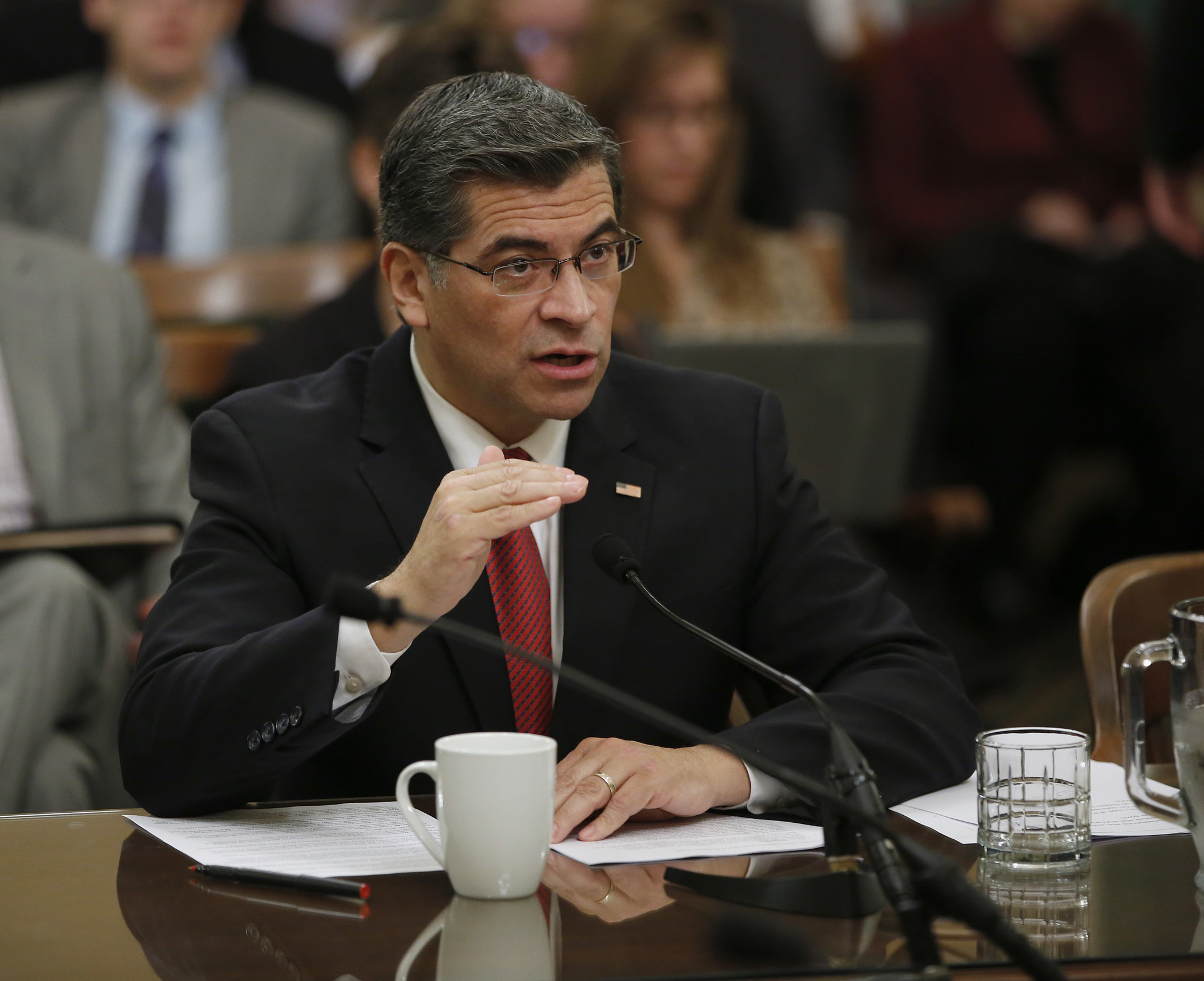 Xavier Becerra (Rich Pedroncelli / Associated Press)