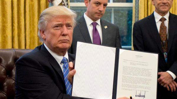 Trump reimposes ban on international aid to groups that discuss abortion