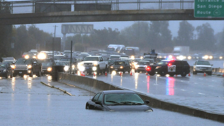 Series of storms rolls through Southern California