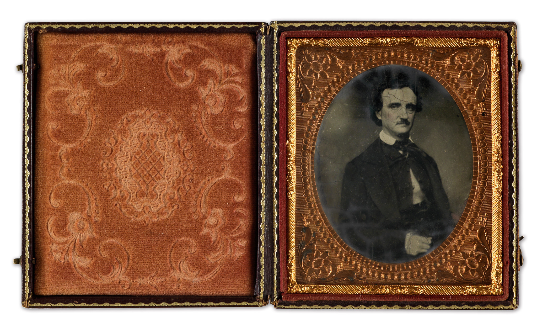 Rare Photo Of Edgar Allan Poe Goes Up For Auction At New York Gallery    Baltimore Sun