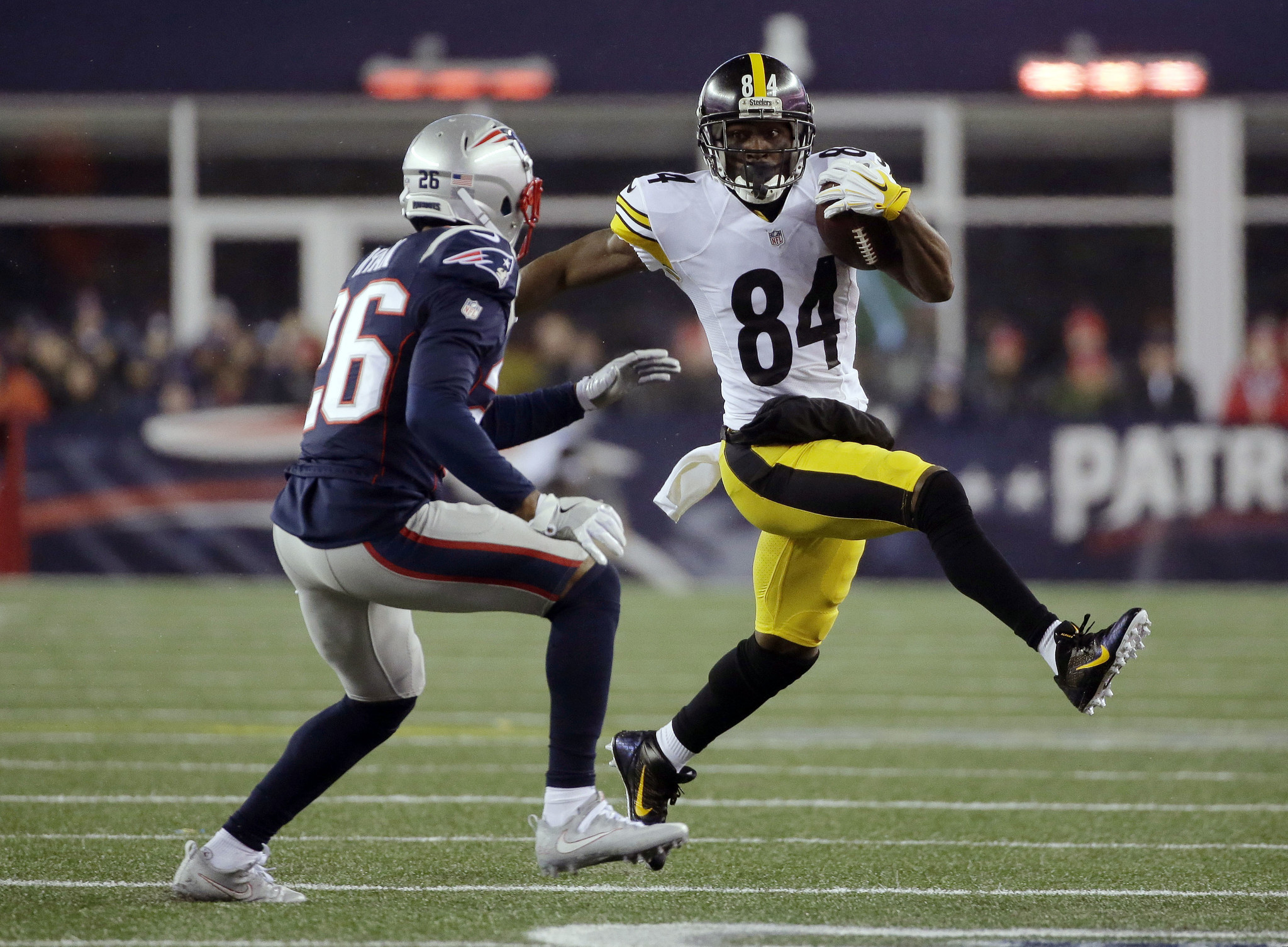 If Steelers want to trade Antonio Brown Eagles should be