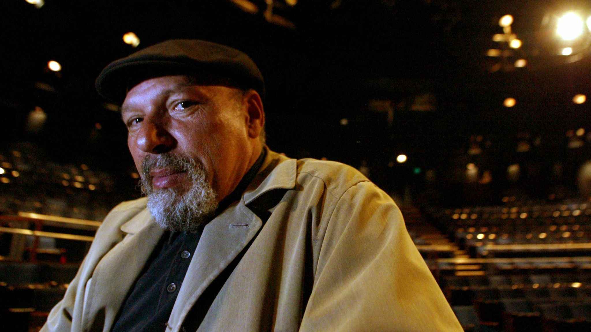 "August Wilson, shown in a 2003 image, adapted his play ""Fences"" for the screen before his death in 2005. (Alexander Gallardo / Los Angeles Times)"