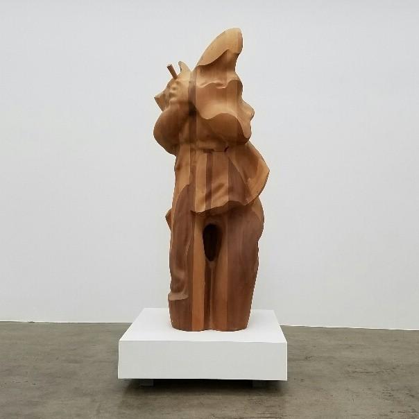 "Douglas Tausik Ryder, ""Myth of Miracles,"" 2013, wood."