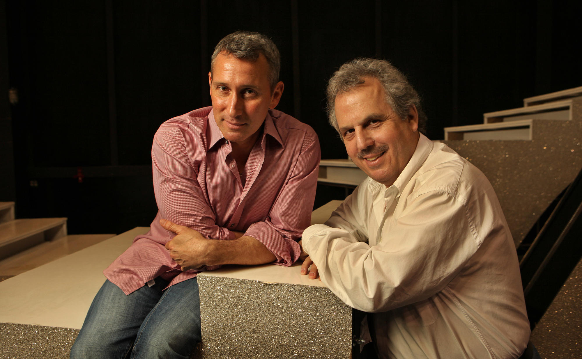 """""""Hacksaw Ridge"""" co-producer Bill Mechanic, right, produced the Academy Awards show in 2010 with Adam Shankman. (Al Seib / Los Angeles Times)"""