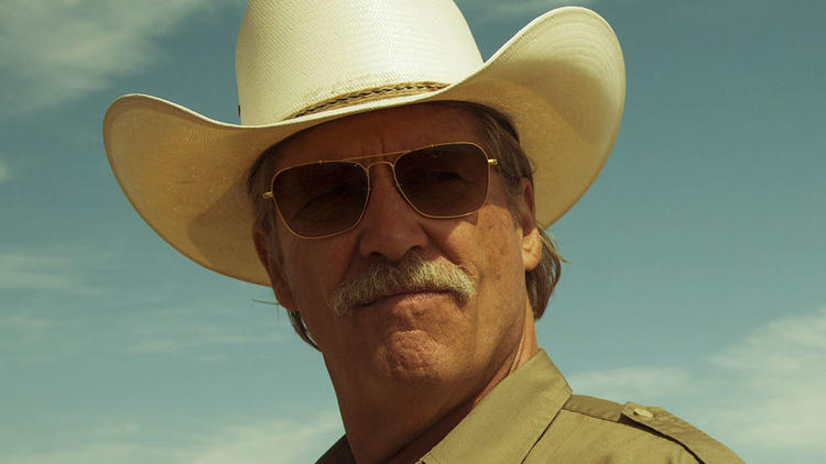 "Jeff Bridges is Texas Ranger Marcus Hamilton in ""Hell or High Water."" (Lorey Sebastian/CBS Films via Associated Press)"